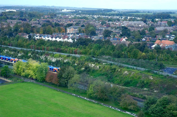 Basingstoke from a few years ago prior to more recent intensive development
